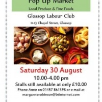 Labour Club Food Fair / Help the Glossopdale Foodbank