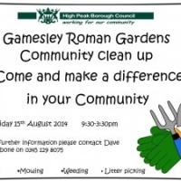 Roman Garden's Community Cleanup