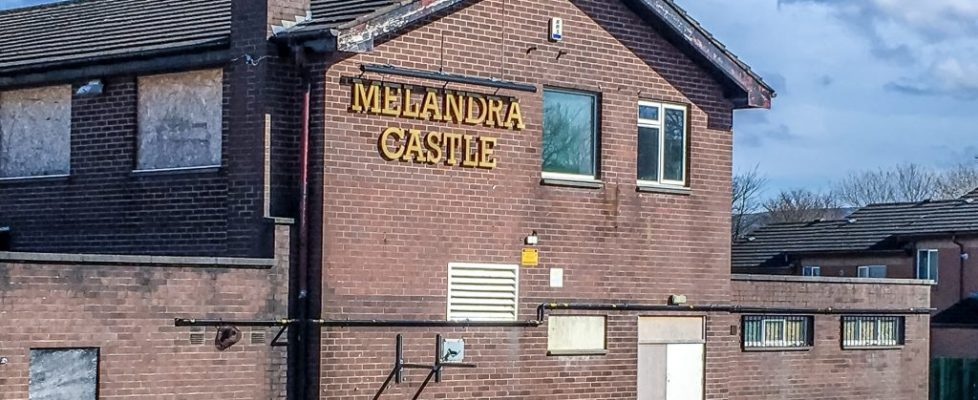The former Melandra Castle Pub
