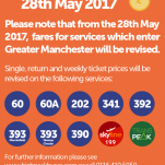 Late May Bank Holiday Buses - Bus Fare Increase