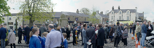 Chapel-en-le-Frith – Dambusters and Flt Lt W Astell 70th Anniversary Tribute