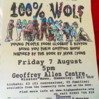 '100% Wolf' – Friday 7th August 2015