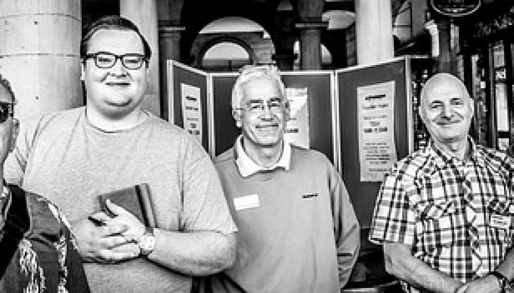 August 2015 'Councillors Shoppers Surgery'