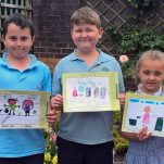 Recycling poster winners