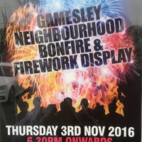 Gamesley Community Bonfire
