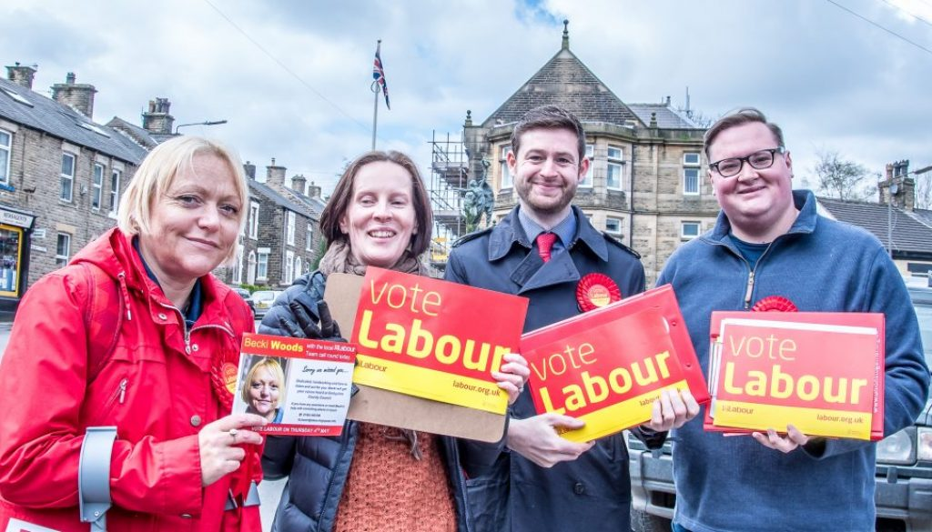 Vote Labour - Vote Becki, Damien and Shelia