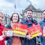 Vote Labour - Vote Becki, Damien and Shelia