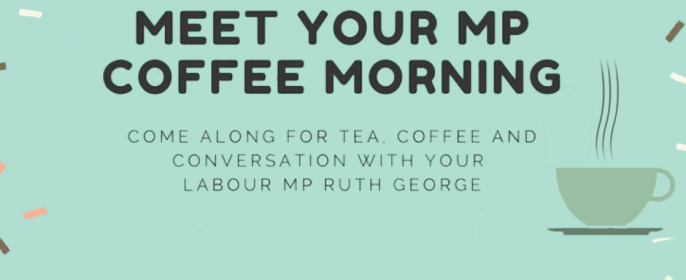 Meet your MP Coffee Morning