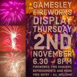 Gamesley Community Fireworks 2017