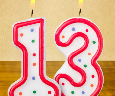 Blog 13th birthday / A brief reminder